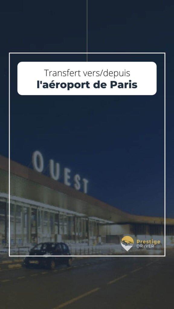 Taxi vers/depuis Paris aéroport
