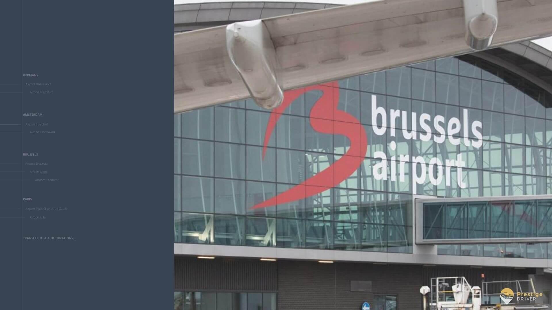 Navette aéroport de Bruxelles