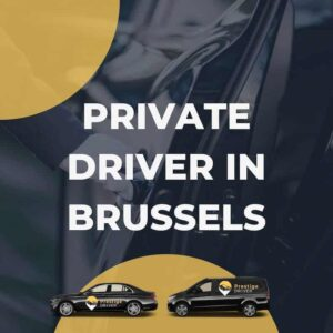 Privat sjåfør i Brussel