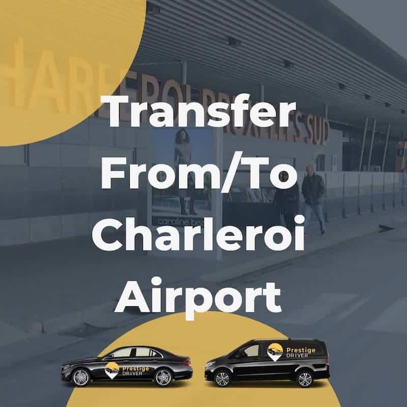 Taxi pour Charleroi aéroport