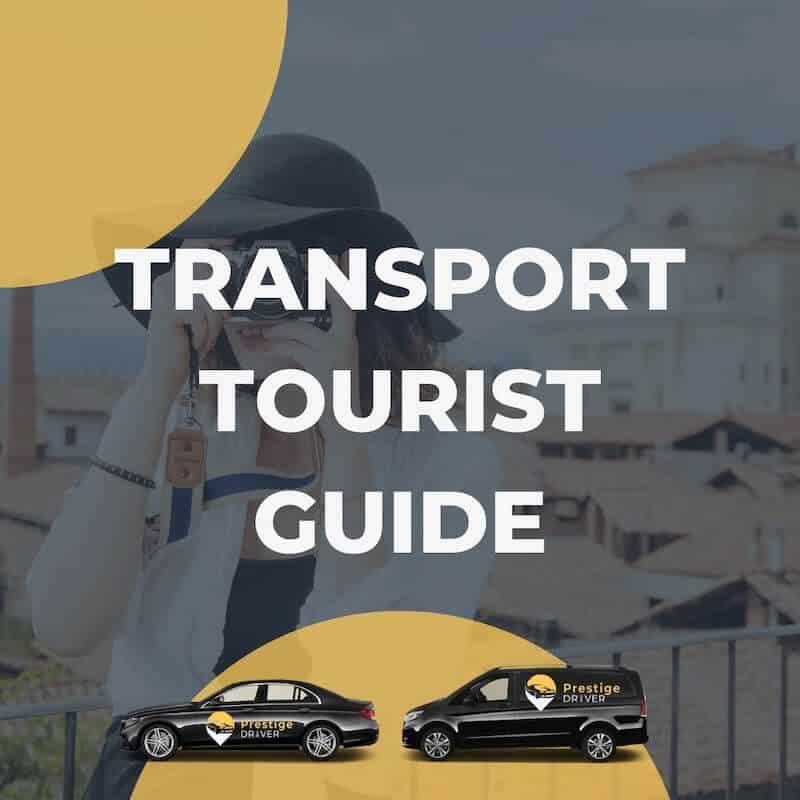 Transport pour guide touristique