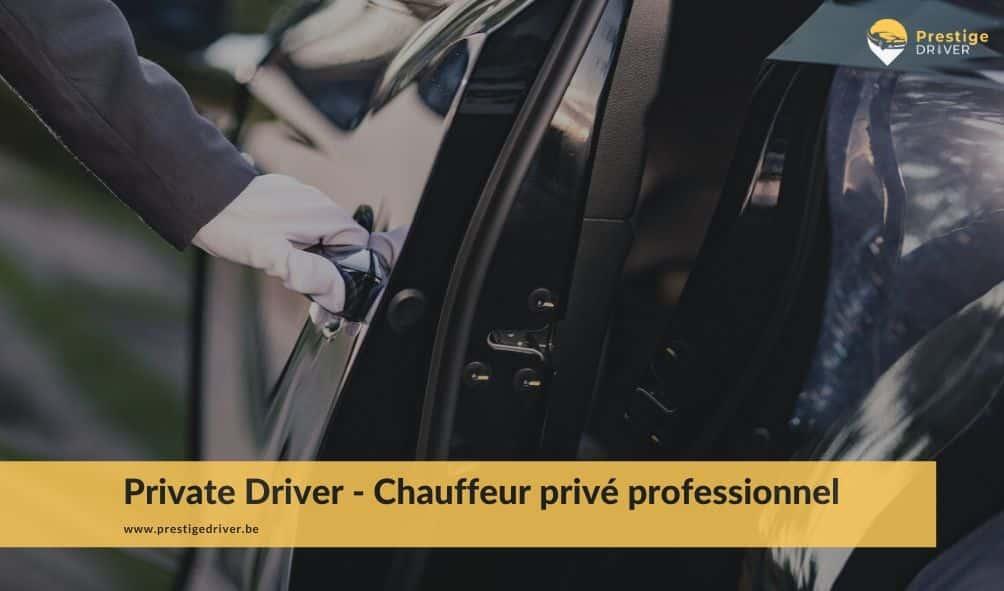 chauffeur privé Bruxelles