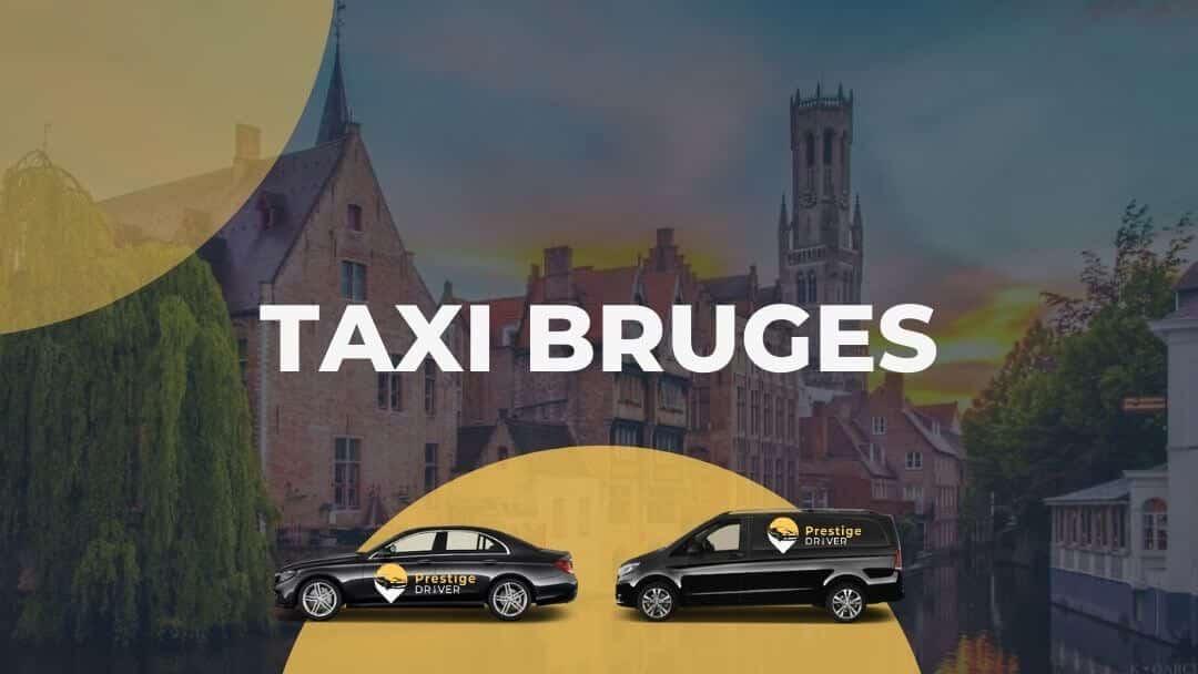 Taxi à Bruges