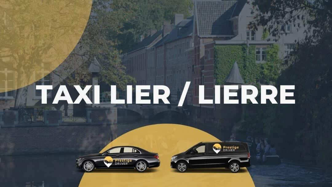 Taxi à Lierre
