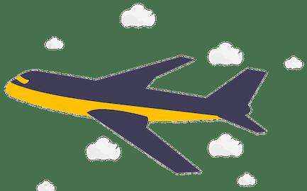 वेयरगैम ब्रुसेल्स के लिए हवाई परिवहन