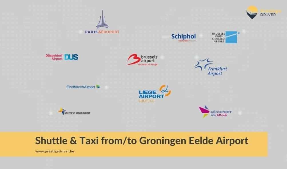 Navette à Groningen-Eelde aéroport