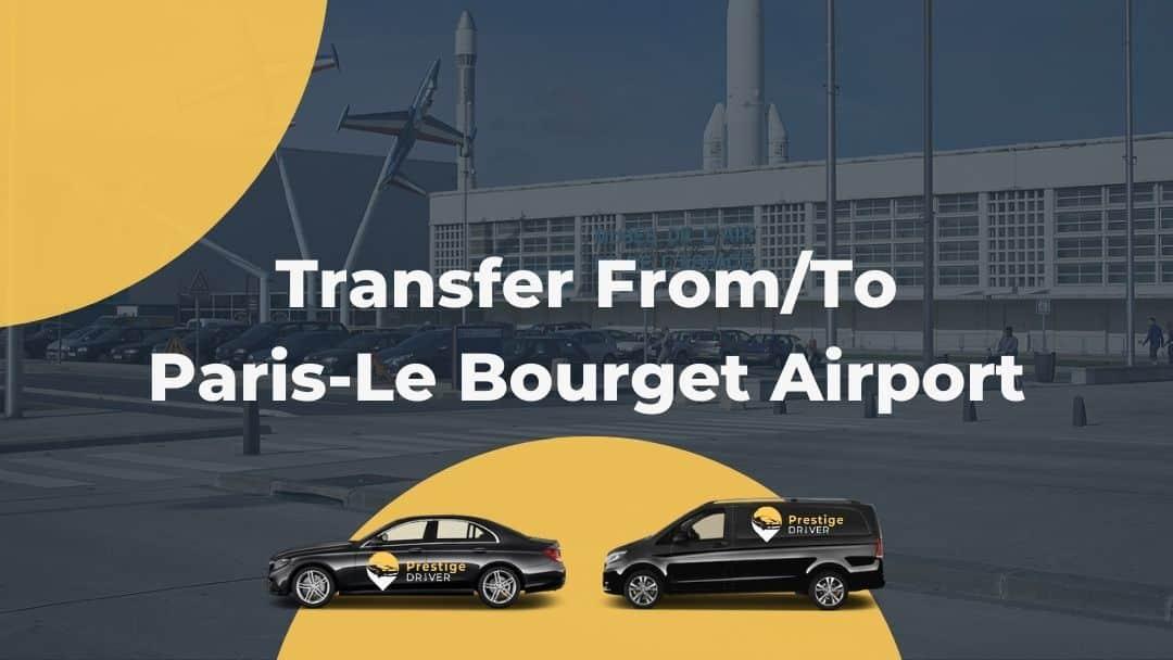 Taxi in Paris-Le Bourget