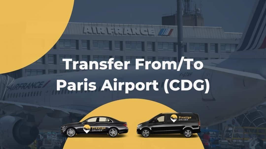 Taxi à Paris-Charles de Gaulle
