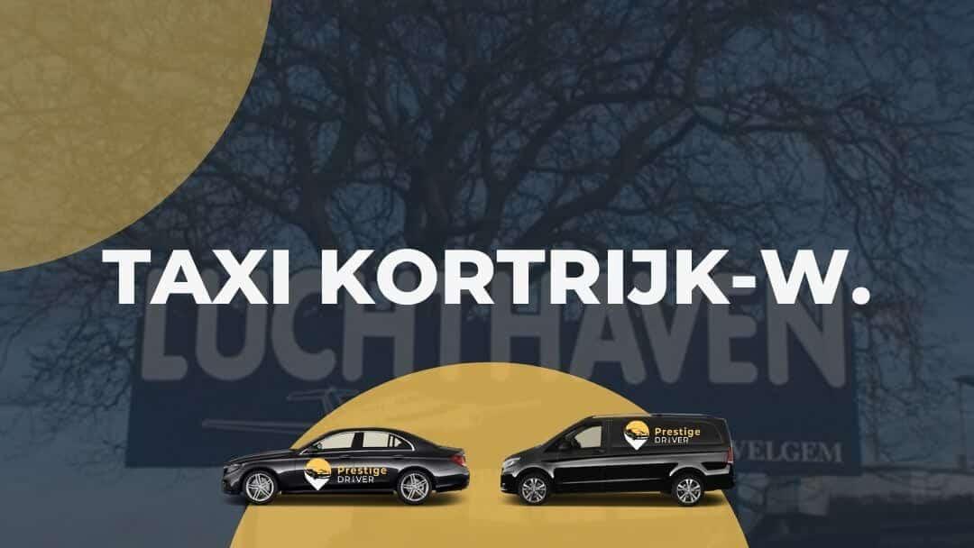 Taxi pour Courtrai-Wevelgem aéroport