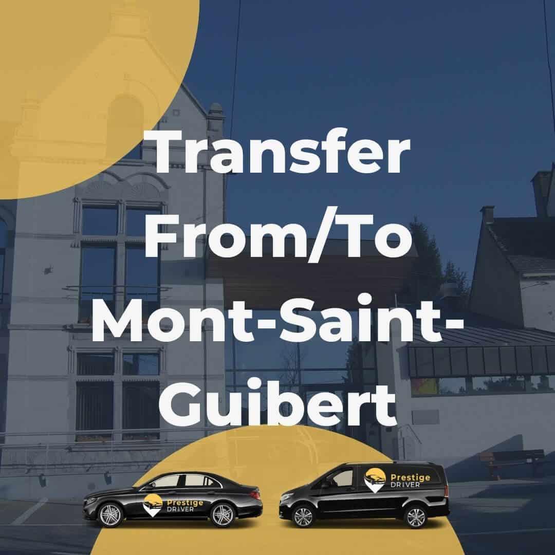 Taxi Mont-Saint-Guibert