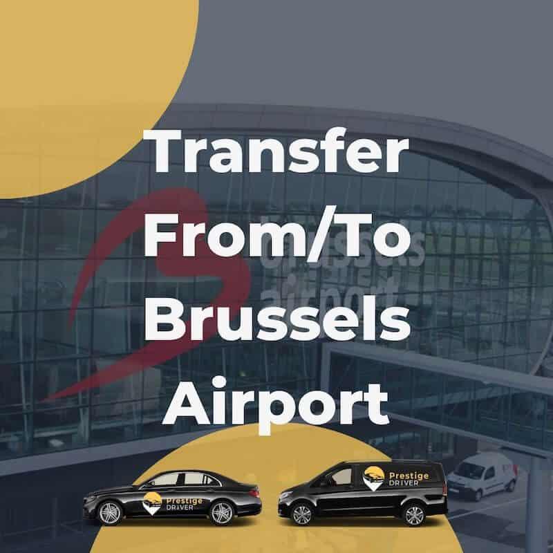 taxi pour l'aéroport de bruxelles
