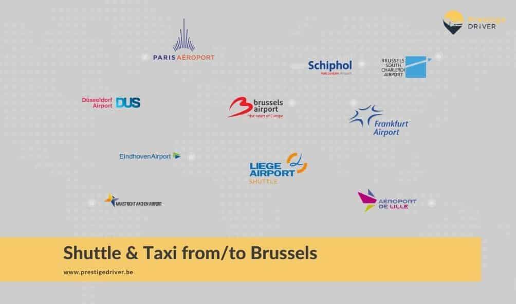 Transfert taxi depuis l'aéroport de Bruxelles